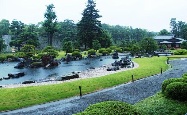 写真・図版 : 二条城の清流園=京都市中京区
