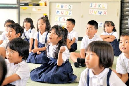Are you all right? 小学校の英語教育